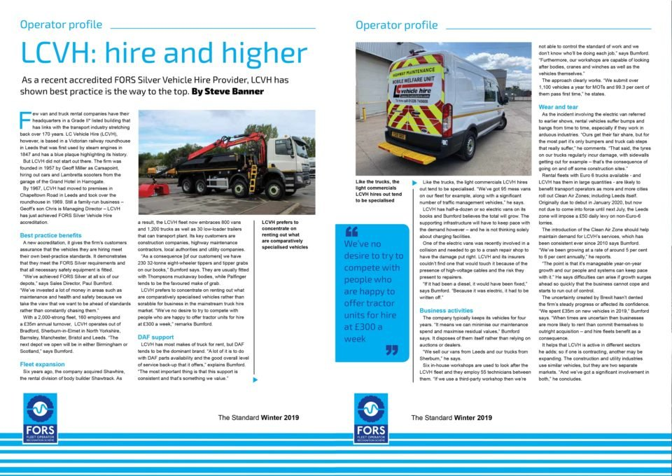 FORS Silver Accreditation Editorial