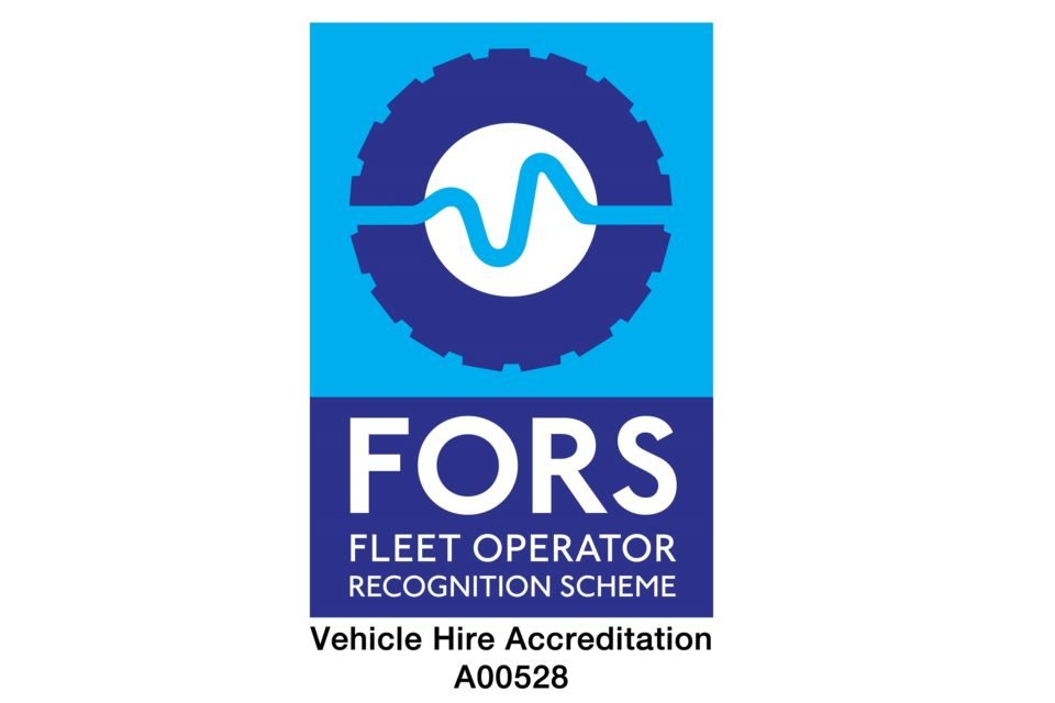 FORS Silver Vehicle Hire Provider Accredited