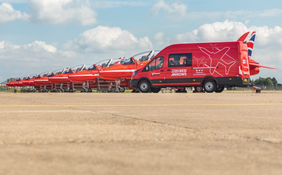 New Van for the RAF Red Arrows